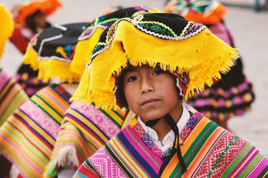 Niño en Ceremonía, Cusco, Peru, 2018 (Ben Ostrower)