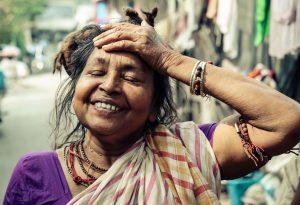 Woman in Joy, Kolkota, India, 2017 (Loren Joseph)