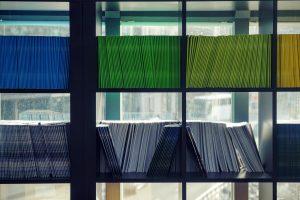 Colorful Bookcase, The Netherlands, 2016 (Maarten Van Den Heuvel)